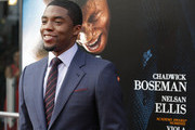 Actor Chadwick Boseman attends the