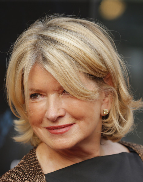 Martha Stewart looked adorable with her bouncy, flippy bob at the premiere of 'Get On Up.'