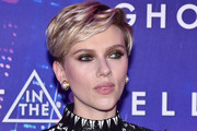 Scarlett Johansson Boy Cut