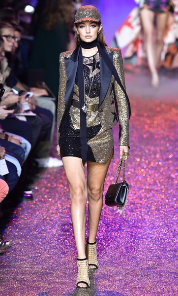 Gigi Hadid Sequined Jacket