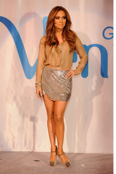 Haute Hippie's Sequined Miniskirt