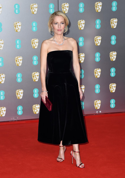 Gillian Anderson Evening Sandals