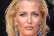 Gillian Anderson Long Side Part