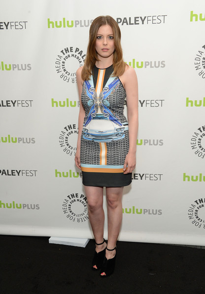 Gillian Jacobs Print Dress