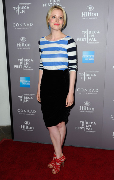 Gillian Jacobs Print Blouse