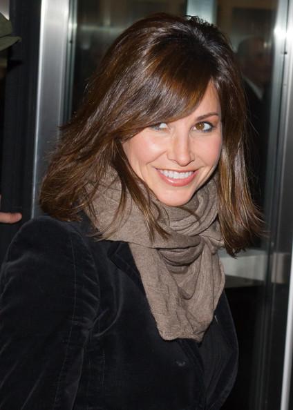 Gina Gershon Medium Straight Cut with Bangs