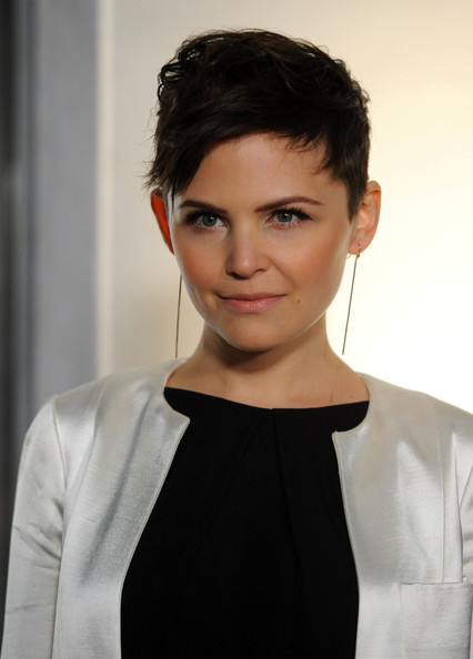 Ginnifer Goodwin Fauxhawk [ginnifer goodwin,hair,face,hairstyle,eyebrow,forehead,lip,chin,beauty,head,fashion,tom ford beverly hills flagship store,beverly hills,california,rodeo drive,arrivals]