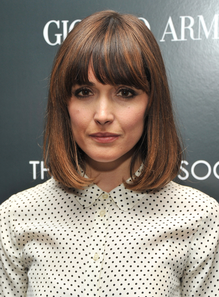 More Straight Guys Here Follow: More Pics Of Rose Byrne Medium Straight Cut With Bangs (3