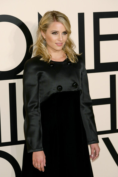 More Pics of Dianna Agron Little Black Dress (1 of 10) - Little Black Dress Lookbook - StyleBistro