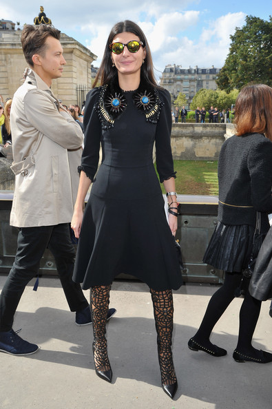 Giovanna Battaglia Little Black Dress