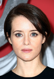 Claire Foy looked cute with her short bob at the 'Girl in the Spider's Web' photocall.