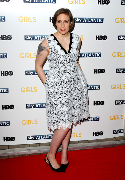 More Pics of Lena Dunham B.o.B (1 of 28) - Lena Dunham Lookbook - StyleBistro