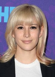 Rachel Antonoff sported a retro-cute flip 'do during the 'Girls' season 3 premiere.