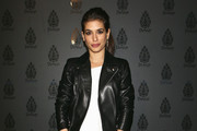 Giulia Michelini Leather Jacket