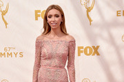Giuliana Rancic Off-the-Shoulder Dress