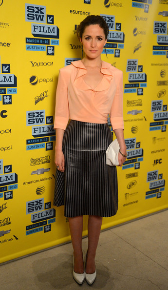 More Pics of Rose Byrne Knee Length Skirt (7 of 16) - Rose Byrne Lookbook - StyleBistro