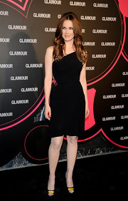 Vanessa Romero showed off her sexy side in a one-shoulder dress at the Glamour Beauty Awards.