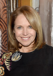 Katie Couric stuck to her signature bob when she attended Glamour's Women Rewriting Hollywood lunch.