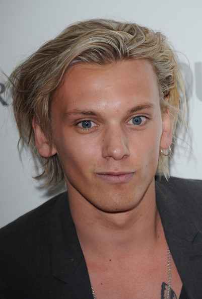 More Pics of Jamie Campbell Bower Messy Cut (1 of 1) - Hair Lookbook - StyleBistro