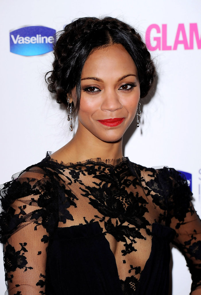 Zoe Saldana arrives at the 2010 Glamour Women of The Year Awards on June 8, 2010 in London, England.