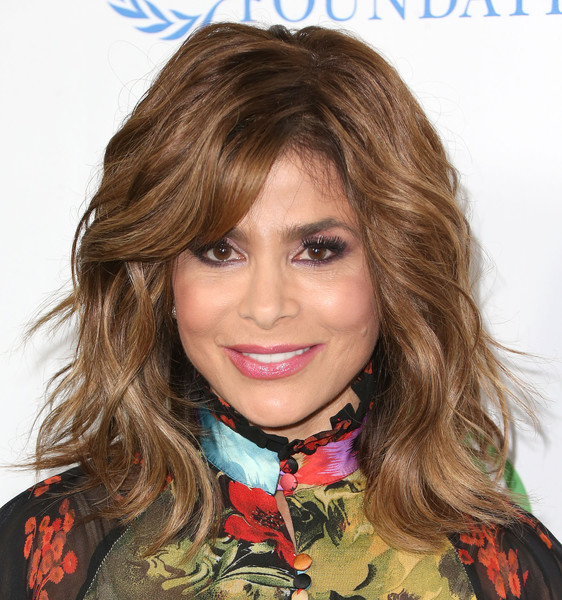 Paula Abdul was gorgeously coiffed with this wavy 'do at the Global Green USA pre-Oscar party.