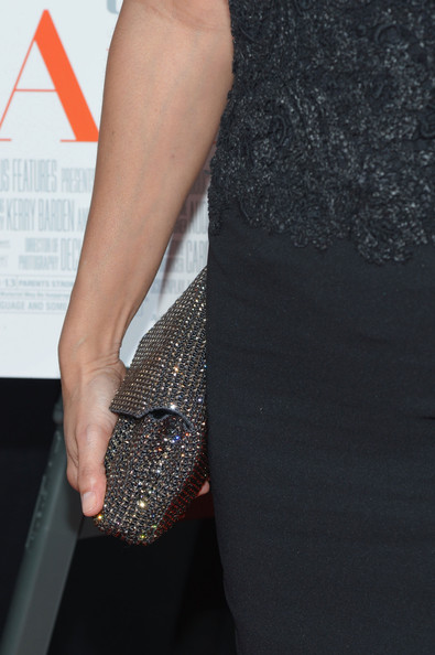 Gloria Reuben Beaded Clutch
