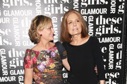 Gloria Steinem Metallic Belt