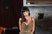 Paz de la Huerta Has Feline Instincts in a Leopard Print Dress