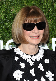 Anna Wintour attended the 2018 Golden Heart Awards wearing her signature bob and shades.