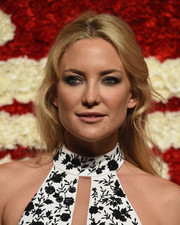 Kate Hudson styled her tresses into a boho half-up 'do for the God's Love We Deliver, Golden Heart Awards.