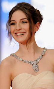 This jaw-dropping diamond necklace was the highlight of Maria Valverde's look at the Goya Awards.