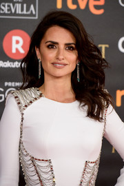 Penelope Cruz looked gorgeous with her feathery waves at the 2018 Goya Cinema Awards.