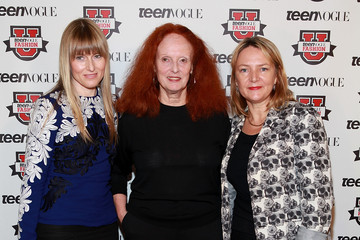 Grace Coddington Eve MacSweeney 7th Annual Teen Vogue Fashion University