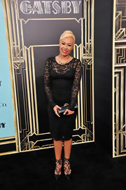 Emeli Sande's lace LBD looked super classy and sophisticated on the red carpet for 'The Great Gatsby.'