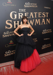 Zendaya Coleman wowed in a strapless black and red ball gown by Viktor & Rolf at the world premiere of 'The Greatest Showman.'