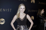 Greer Grammer Fitted Blouse