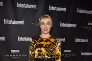 Greta Gerwig Print Dress