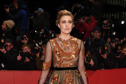 Greta Gerwig Sequin Dress