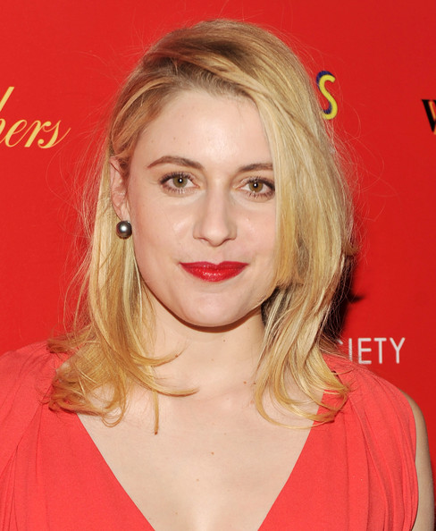 Greta Gerwig Medium Layered Cut