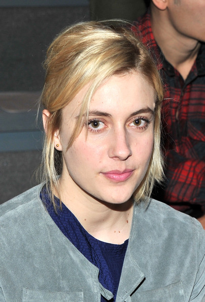 Greta Gerwig Half Up Half Down