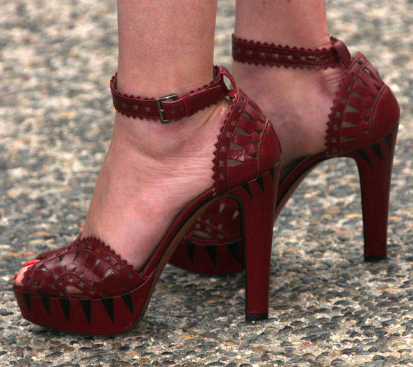 Gretchen Mol Shoes