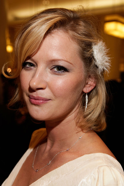 Gretchen Mol Short Wavy Cut [hair,face,hairstyle,blond,eyebrow,chin,beauty,lip,brown hair,long hair,gretchen mol,new york city,barneys new york celebrates fashion,night out,celebration]