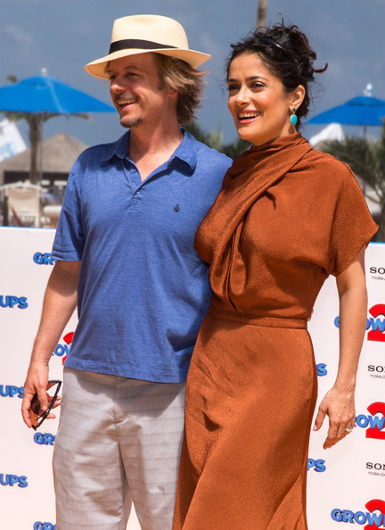 More Pics of Salma Hayek Day Dress (5 of 28) - Salma Hayek Lookbook - StyleBistro