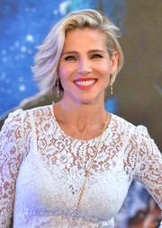 Elsa Pataky looked cute with her windswept bob at the London premiere of 'Guardians of the Galaxy.'