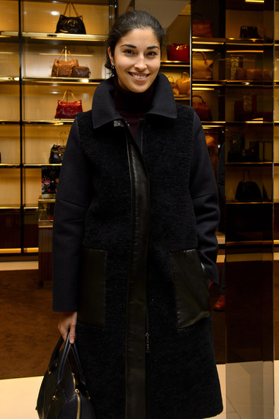 More Pics of Caroline Issa Wool Coat (1 of 4) - Outerwear Lookbook - StyleBistro []