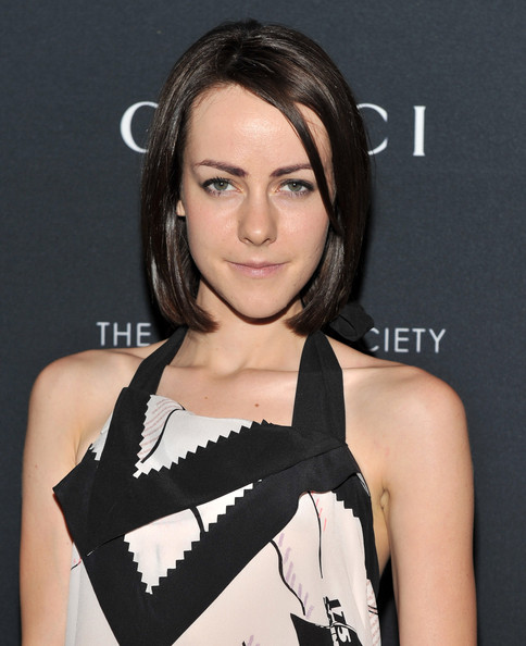 Jena Malone kept it simple with this bob at the screening of 'La Dolce Vita.'