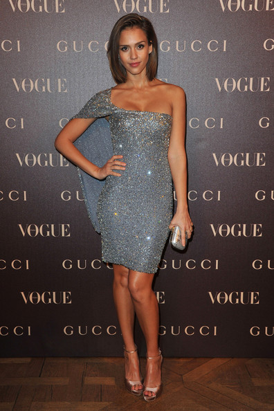 Glitzy Gucci for the Vogue Paris Dinner