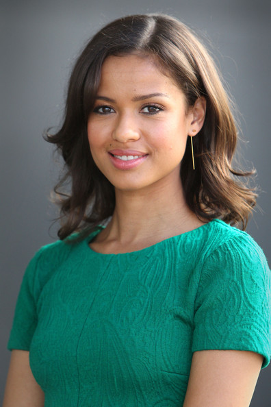 Gugu Mbatha-Raw Gold Dangle Earrings