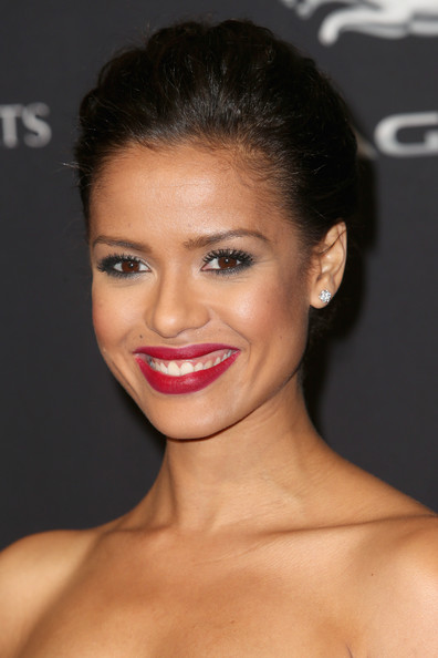 Gugu Mbatha-Raw Red Lipstick