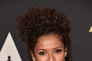 Gugu Mbatha-Raw Pinned Up Ringlets